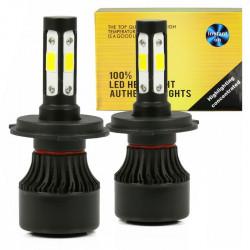 LED H4 S4 COB 80W 16000 lm